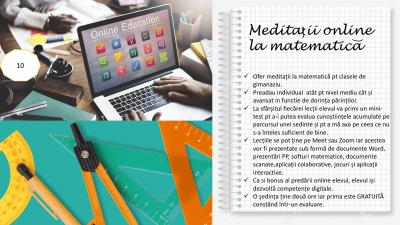 Meditatii Matematica Sibiu Andreea