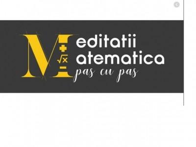 Meditatii Matematica Bucuresti - Sectorul 1 Violeta